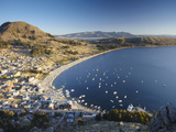 View of Copacabana, Lake Titicaca, Bolivia Photographic Print by Ian Trower