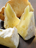 Camembert and Toasted White Bread Photographic Print
