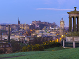 UK, Scotland, Edinburgh, Calton Hill, Stewart Monument Photographic Print by Alan Copson