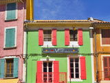 France, Provence, Orange, Colourful Buildings Photographic Print by Shaun Egan