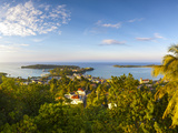 Elevated View over Port Antonio and Navy Island, Portland Parish, Jamaica, Caribbean Photographic Print by Doug Pearson