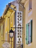 France, Provence, Orange, Boulangerie Sign Photographic Print by Shaun Egan