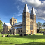 Southwell Minster (12th Century), Southwell, Nottinghamshire, England, UK Photographic Print by Ivan Vdovin