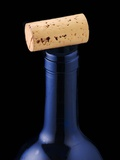 Wine Cork on Bottleneck Photographic Print by Chris Schäfer