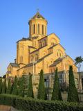 Tsminda Sameba (Trinity) Cathedral, Tbilisi, Georgia Photographic Print by Ivan Vdovin
