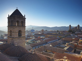 View of Potosi from Rooftop of Convento De San Francisco, Potosi (UNESCO World Heritage Site), Boli Photographic Print by Ian Trower