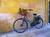 UK, England, Cambridge, Clare College, Bicycle Photographic Print by Alan Copson