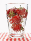 Glass of Strawberry Punch Photographic Print by  Kröger & Gross