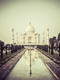 India, Uttar Pradesh, Agra, Taj Mahal (UNESCO Site) Photographie par Michele Falzone