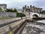 Castle, Conwy, Wales, UK Photographic Print by Ivan Vdovin