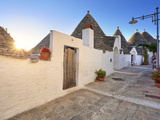 Italy, Apulia, Bari District, Itria Valley, Alberobello, Trulli (Typical Houses) Photographic Print by Francesco Iacobelli