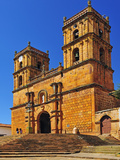 Templo, Colonial Town of Barichara, Colombia, South America Photographic Print by Christian Heeb