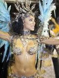 Rio De Janeiro, Rio De Janeiro City, Fabia Borges of the Imperio Da Tijuca Samba School at Carnival Photographic Print by Alex Robinson
