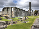 St Andrews Cathedral, St Andrews, Fife, Scotland, UK Photographic Print by Ivan Vdovin