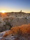 Italy, Basilicata, Matera District, Matera, Sassi Di Matera (Meaning Stones of Matera) Photographic Print by Francesco Iacobelli