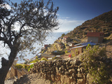 Village of Yumani on Isla Del Sol (Island of the Sun), Lake Titicaca, Bolivia Photographic Print by Ian Trower