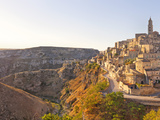 Italy, Basilicata, Matera District, Matera, Sassi Di Matera (Meaning Stones of Matera) Photographic Print by Francesco Iacobelli