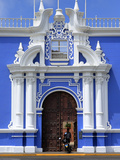Colonial Buildings, Plaza De Armaz, Trujillo, Peru Photographic Print by Ivan Vdovin
