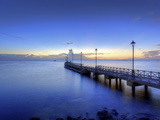 Caribbean, Barbados, Speighstown, Boat Jetty Photographic Print by Michele Falzone