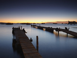 Sunset on Lake Titicaca, Copacabana, Bolivia Photographic Print by Ian Trower