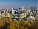 Canada, Quebec, Montreal, Downtown Montreal Photographic Print by Alan Copson