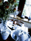 Table Laid for Coffee Photographic Print by Dorota & Bogdan Bialy