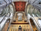 Interior of Rochester Cathedral, Rochester, Kent, England, UK Photographic Print by Ivan Vdovin
