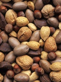 Assorted Nuts Photographic Print by Vladimir Shulevsky