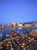 Kyrenia Castle and Harbour at Dusk, Kyrenia, North Cyprus Photographic Print by Neil Farrin