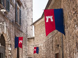 Italy, Umbria, Terni District, Narni, Corsa All'Anello, Historical Horses Fair Photographic Print by Francesco Iacobelli