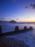Eastbourne Pier at Sunrise, Eastbourne, East Sussex, England, UK Photographic Print by Neil Farrin