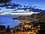 Funchal at Sunset, Madeira, Portugal Photographic Print by Mauricio Abreu