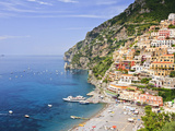 Italy, Campania, Salerno District, Peninsula of Sorrento, Positano Photographic Print by Francesco Iacobelli