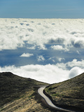 Road to Nowhere, Misty Mountains of Madeira, Portugal Photographic Print by Mauricio Abreu