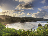Caribbean, Barbados, Bathsheba Bay Photographic Print by Michele Falzone