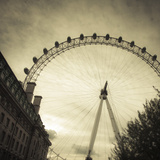 London Eye, South Bank, London, England, UK Photographic Print by Jon Arnold