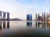 City Skyline Viewed across Marina Bay, Singapore Photographic Print by Gavin Hellier