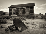 USA, California, Bodie, Ruined House Photographic Print by Mark Sykes