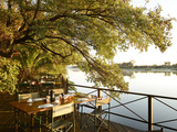 Africa, Namibia, Okavango River, Mahangu Safari Lodge Photographic Print by Christian Heeb