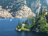 Villa Near Malcesine, Lake Garda, Italy Photographic Print by Katja Kreder