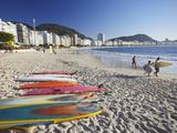 Copacabana Beach, Rio De Janeiro, Brazil Impressão fotográfica por Ian Trower