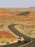 People Riding Bikes Near Flagstaff, Arizona, USA MR Photographic Print by Christian Heeb