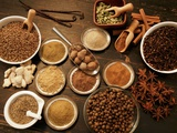 Many Different Spices Photographic Print