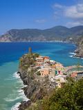 Vernazza, Cinque Terre, Riviera Di Levante, Liguria, Italy Photographic Print by Jon Arnold