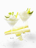 Frozen Vodka Lemon Photographic Print by Karin Hessmann