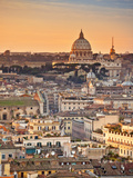 View from the Top of Vittoriano, Rome, Lazio, Italy, Europe Photographic Print by Francesco Iacobelli