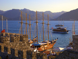 Marmaris Castle and Harbour, Marmaris, Datcha Peninsula, Turkey Photographic Print by Neil Farrin
