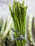 A Bundle of Green Asparagus Photographic Print by Martina Schindler