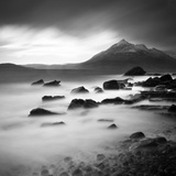 View from Elgol Beach to the Cuillin Hills, Isle of Skye, Scotland, UK Photographic Print by Nadia Isakova