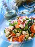 Greek Salad Fotografisk tryk af Dorota & Bogdan Bialy